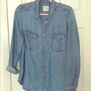 American Eagle Chambray Shirt
